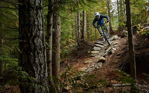 will riding whistle bike park scaled down