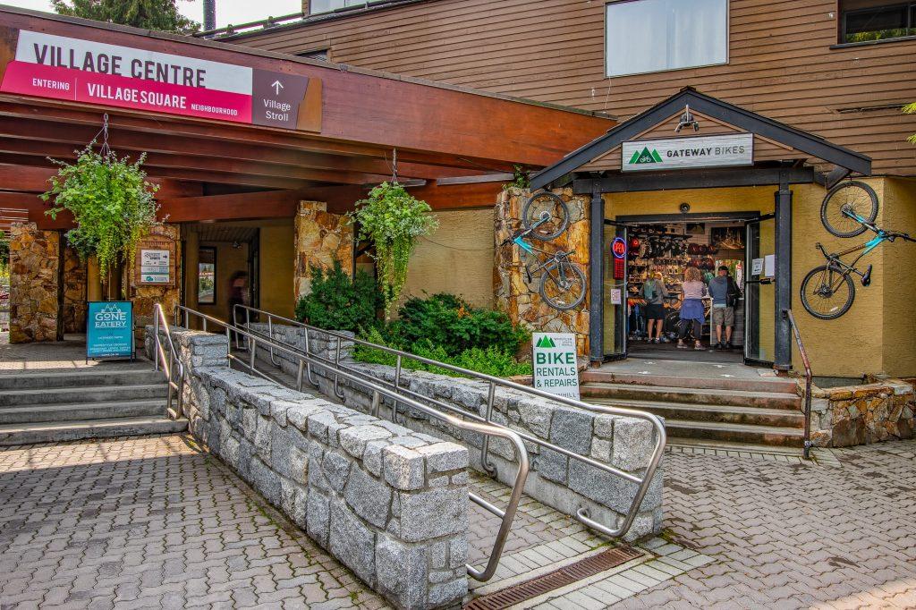 Whistler Sports Rentals Shop Front
