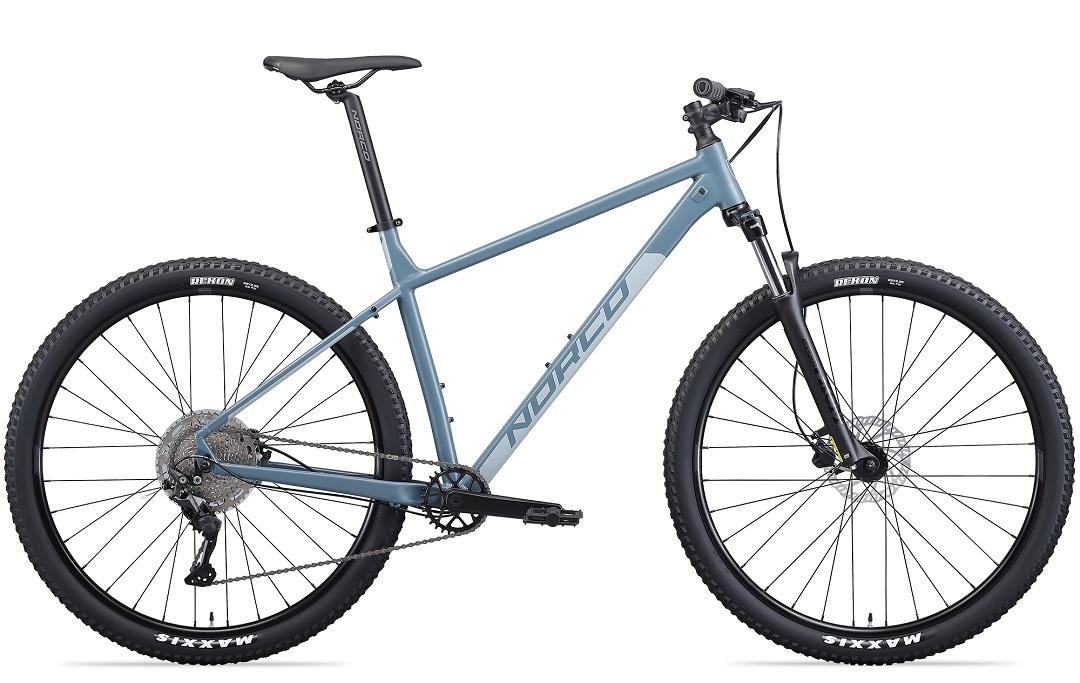 rental mountain bike in blue